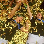 Confetti bath for the champs! http://t.co/p0KPmSKDfR