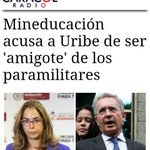 Hasta que alguien de la intimidad de palacio tuvo agallas pa decirle en la cara amigo de delincuentes Uribe lo peor http://t.co/nrAPOQO5GC