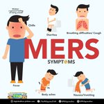 1st case of MERS has been recorded in the Phl. Here are some of the symptoms to look out for. http://t.co/FsijUre5P0