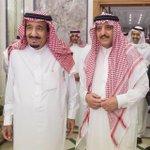 #صورة ???? #خادم_الحرمين_الشريفين #الملك_سلمان وشقيقه الأمير أحمد بن عبدالعزيز في قصر الصفا بـ #مكة_المكرمة فجر اليوم - http://t.co/5LLSCjaakB