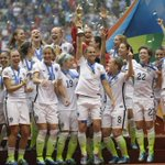 Carli Lloyd wins outstanding player award as U.S. defeats Japan 5-2 to win World Cup http://t.co/eCU2ZGIYoD #808news http://t.co/TcItpyeJzg
