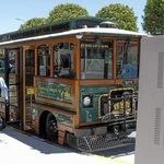 Monterey wireless electric trolley to live on past summer http://t.co/rrOehFfzRc http://t.co/PI4QIGbexk