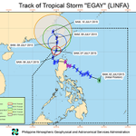 Tropical Storm Egay expected to leave PH Area of Responsibility on July 9, Thursday #EgayPH http://t.co/T0KGU973H6