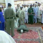 1. Man dies while in Sujud.   2. Man dies while reading the Quran.  May we die when Allah is pleased with us. Amin http://t.co/7q1wkeSYle