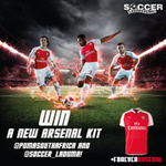 "Step 1: Follow @PUMASouthAfrica and @Soccer_Laduma & tweet us ""I want Arsenals 15/16 shirt!"" #ForeverArsenal #PUMAZA http://t.co/4qHh5vuU2O"