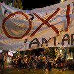 Zgodovinski dan za staro celino: Grki evropski trojki odločno rekli ne http://t.co/FVxieNkKLG (Foto: Reuters) #grexit http://t.co/8bX9dqVP5m