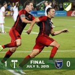 Its @JewsburyJ at the death! Timbers beat @SJEarthquakes, 1-0. #RCTID http://t.co/AkZZvDIMMC