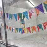 Testing our custom coming soon Bunting in Leeds #colorplan #riso #fredaldous #leeds #makeanything http://t.co/aC4Rc4oQrA