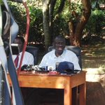 FDCs @KizzaBesigye address media today following his nomination as party flag bearer. @ntvuganda http://t.co/Hny7yQZzfz