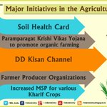 Major initiatives in the Agriculture Sector @AgriGoI http://t.co/mkYcVL1SzL
