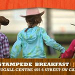 Good morning #yyc! Start your day with pancakes & music by @MastersMatt at Premiers Stampede Breakfast. http://t.co/rfc49Zmk95