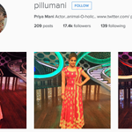 RT @PriyaManiWeb: Don't forget to follow @priyamani6 on her official Instagram account :)  https://t.co/h7vQ0g0YJG
