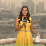 Looks like a ghost town out there #Vancouver. Air quality advisory in effect b/c of smoke from #BCFires #CTVFireLine http://t.co/r3lr6lmJiG