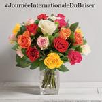 RT + Citez un(e) twittos à qui vous souhaitez envoyer un baiser pour gagner ces roses #JournéeInternationaleDuBaiser http://t.co/IbPtm7bekN