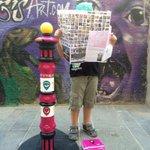Desde el sábado, ya tenemos un pilón dedicado al @IgersMap en #PilonsStreet, en #Tarragona. #PilonParade2015 http://t.co/h2sJnLLTn5