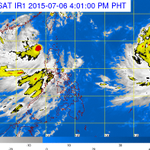 Typhoon Chan-hom (to be named Falcon) expected to enter PAR on July 7 or 8, while #EgayPH is still inside http://t.co/aEOMBLY6mG