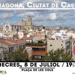 """Dimecres, primera actuació III ed. """"Tarragona, Ciutat de Castells"""". 19:30h a la Plaça de les Cols. Us hi esperem! http://t.co/r2iP9lqoQO"""