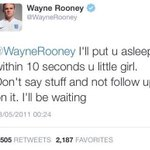 Throwback to the time Wayne Rooney threatened to knock himself out... http://t.co/QXLHlK0WNJ