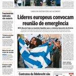 A #capa do #jornaloglobo nesta segunda: http://t.co/vJYfUeFuKd http://t.co/5INKpi3CSK