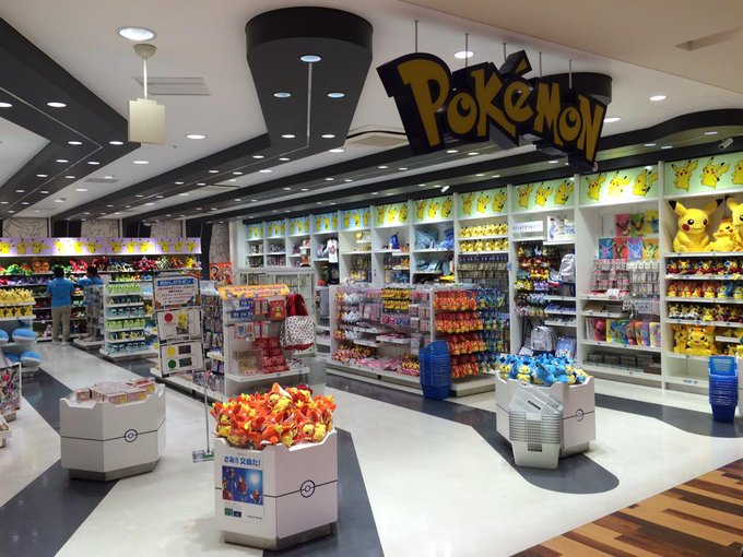 Pokemon centre in hakata! http://t.co/hMC8ApGM2x