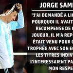 [#Chile2015] J.Sampaoli (coach du Chili) explique pourquoi Messi a refusé le titre de meilleur joueur de la Copa... http://t.co/JaOR4tpfjP
