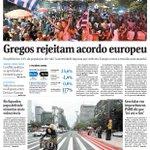 Bom dia! Esta é a capa da Folha de hoje: http://t.co/OsUemSwig3