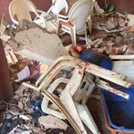Photos of a restaurant bombed in #Nigerias Jos city on Sunday night, leaving 23 people dead  http://t.co/X0aWvW19Y0 http://t.co/0b4Do2e9Rs