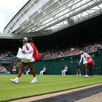 Were up and running on Centre where Serena has won the opening eight points to lead 2-0 #ManicMonday #Wimbledon http://t.co/Dtue9yiDv6