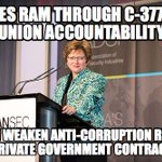 Tory ethics: Unions must be held accountable. Corporations? Whatever. http://t.co/FFr0ql1nyG #canlab #cdnpoli #C377 http://t.co/abb3c62aG5