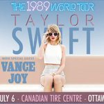Its FINALLY July 6 and OMG @taylorswift13 is in town! Getting harder to contain our excitement! #1989WorldTour http://t.co/x3SVBagMvz