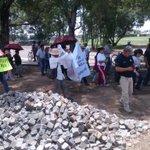 . @INAHmx #Puebla y habitantes de #Cholula recorren zona arqueológica en protesta contra parque intermunicipal http://t.co/6X1g2z08NX