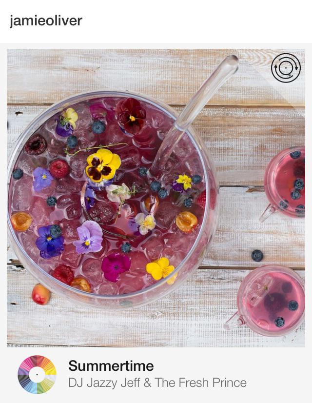 RT @tunepics: Summer fruit punch by @jamieoliver don't mind if I do... ????????Listening to this on #Tunepics http://t.co/0yKo1YBcaf http://t.co/…