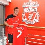 [#PL] James Milner portera le numéro 7 à Liverpool, le premier joueur depuis Luis Suárez. http://t.co/EzrpJgNlY0