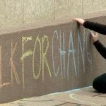 #ChalkforChange campaign puts attention on missing, murdered women http://t.co/iUTei6VR1j http://t.co/YSPgTVfW6s