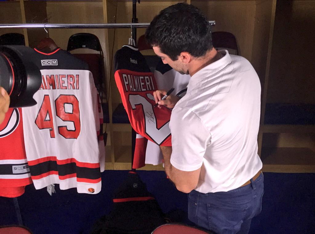 CONTEST ALERT: RT for the chance to WIN the first-ever autographed Kyle Palmieri #NJDevils jersey! http://t.co/TTr115zvPd