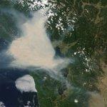 NASA satellite image shows B.C. wildfire smoke http://t.co/yMxakCJPQb http://t.co/2QMXXJeDlH