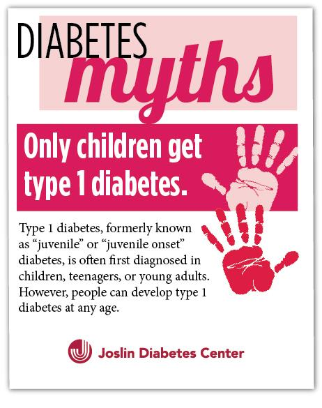 #Diabetes Myths - Only children develop #T1D: http://t.co/CRLq9eOG4Z #MythMonday http://t.co/KzJdUIZS7W