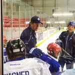 Not a bad guy to learn hockey from on a Monday morning. #TMLtalk http://t.co/BxMKt0NjpM
