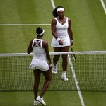 Serena Williams is through to the #Wimbledon quarter-finals after beating elder sister Venus http://t.co/OtzBUkRsyt http://t.co/KYPy7EdlpZ