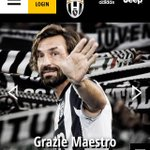 Grazie maestro. La #Juve ufficializza laddio di #Pirlo http://t.co/tG6Qg3ksVv