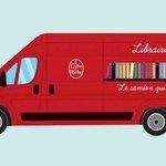 """""""La camion qui livre"""", le #booktruck sur vos plages @livredepoche http://t.co/YnYTJNWO73 http://t.co/LamSGxWQMa"""