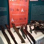 En instantes @danielscioli destruye armas de fuego en el Museo del Servicio Penitenciario #LaPlata http://t.co/799rL5ZtcU