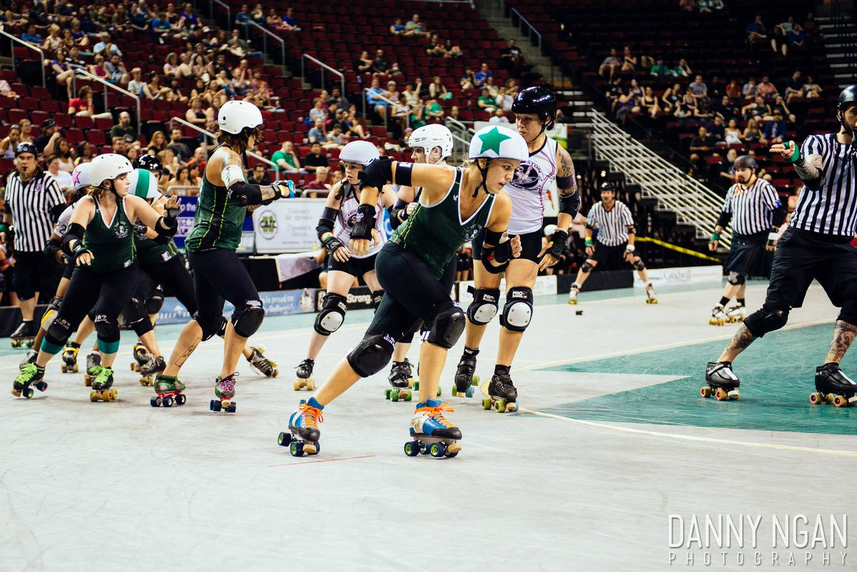 Is it Saturday yet? We can't wait to host @RoseCityRollers at @KeyArenaSeattle! Don't miss it http://t.co/5vKMPBg1e6 http://t.co/sJ3codtPEe