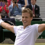 #Wimbledon Highlights - Pospisil rallies to reach first major quarterfinals. VIDEO: http://t.co/ThKop8XNdT http://t.co/9aZFQvrO0r