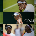 Just the 64 Grand Slam titles on show today... #ManicMonday #Wimbledon http://t.co/m2S1LpbqjI