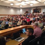 This plus 3 conf rooms full of people show up for study/vote on #lkld fire assessment fee. 40 pp signed up to speak. http://t.co/YOnE5zPJMo