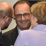 """Crise grecque: Hollande, """"champion de la synthèse"""", revient au centre du jeu http://t.co/XJFOxzTS2c http://t.co/LjvKbmuvja"""