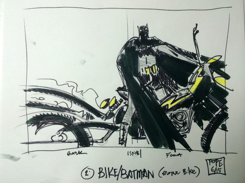 Approved cvr design for my new Batman:Yr100 HC, lotta added/unseen content. Bat-Hog>Bat-Pod NFA/PMA 10/15. http://t.co/JafkAVh02A