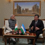 My first meeting in Uzbekistan was with PM Shavkat Miromonovich Mirziyoyev. We had a fruitful interaction. http://t.co/ztvHjG7kDB
