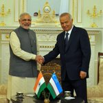 My discussions with President Karimov were very productive, aimed towards further deepening India-Uzbekistan ties. http://t.co/yYVoaZwiYy